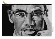 Malcom X Carry-all Pouch