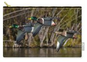 Mallards Flying By Carry-all Pouch