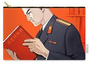 Man Is Reading Lenin Books Carry-all Pouch
