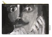 Man With A Handlebar Moustache Carry-all Pouch