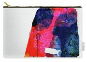 Man With No Name Watercolor Carry-all Pouch
