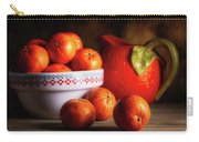 Mandarin Oranges And Orange Shaped Pitcher Carry-all Pouch
