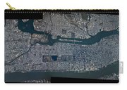 Manhattan - 2012 From Space Carry-all Pouch by Celestial Images