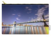 Manhattan Bridge By Night Carry-all Pouch