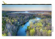 Manistee River And Hodenpyle Dam Aerial Carry-all Pouch