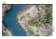 Manistee River Bend Aerial Carry-all Pouch
