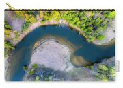 Manistee River Curve Aerial Carry-all Pouch