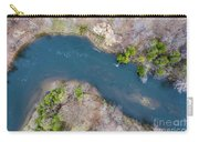 Manistee River From Above Carry-all Pouch