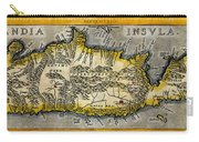 Map Of Crete 1584 Carry-all Pouch