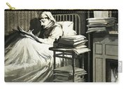 Marcel Proust Sat In Bed Writing Remembrance Of Things Past Carry-all Pouch