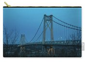 March Evening At Mid-hudson Bridge 2019 Carry-all Pouch