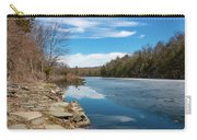 March Morning At Sanctuary Pond Carry-all Pouch