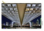 Margaret Hunt Hill And City From Underneath Carry-all Pouch