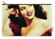 Maria Felix, Vintage Actress Carry-all Pouch