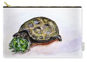 Marshal The Turtle Carry-all Pouch by Clyde J Kell