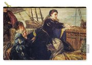 Mary, Queen Of Scots - The Farewell To France, 1867  Carry-all Pouch