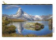 Matterhorn From Lake Stelliesee 07, Switzerland Carry-all Pouch