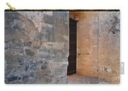 Medieval Castle Entrance In Algarve Carry-all Pouch