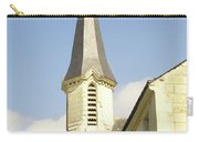 medieval church spire in France Carry-all Pouch