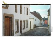 medieval cobbled street in Culross, fife Carry-all Pouch