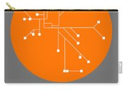Melbourne Orange Subway Map Carry-all Pouch