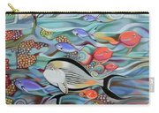 Memory Of The Coral Reef Carry-all Pouch