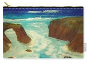 Mendocino Waves Carry-all Pouch
