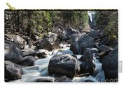 Merced River And Vernal Fall, Yosemite National Park Carry-all Pouch
