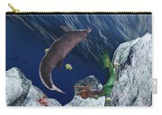 mermaid at Play Carry-all Pouch