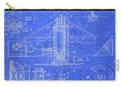Merry Go Round Amusement Carousel Vintage Patent Blueprint Carry-all Pouch