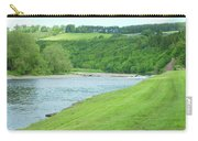 Mertoun Salmon Beat On River Tweed Carry-all Pouch