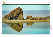 Meyers Beach Reflections - Oregon  Carry-all Pouch