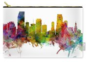 Miami Florida Skyline Panoramic Carry-all Pouch
