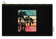Miami Florida Vintage Summer Carry-all Pouch