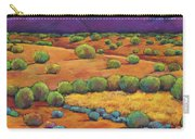 Midnight Sagebrush Carry-all Pouch by Johnathan Harris