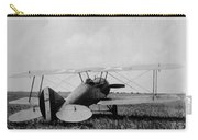 Military Biplane - Marine Flying Field - 1918 Carry-all Pouch