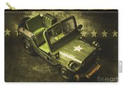 Military Green Carry-all Pouch