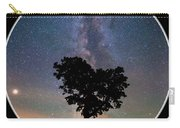 Milky Way Heart Tree Circle Carry-all Pouch