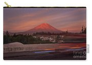Misti Volcano In Arequipa, Peru, South America Carry-all Pouch by Sam Antonio Photography