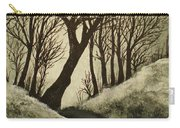 Misty Dawn In Early Winter Carry-all Pouch