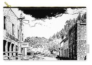 Mogollon New Mexico Ghost Town Carry-all Pouch