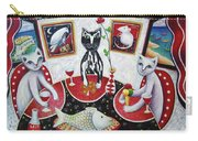 Monaco Cats Red Carry-all Pouch