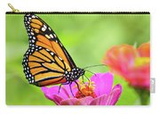 Monarch Butterfly Square Carry-all Pouch