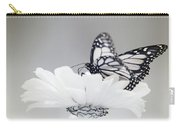 Monarch In Infrared 5 Carry-all Pouch by Brian Hale