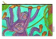 Monkeys On Creepers Carry-all Pouch