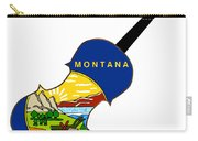 Montana State Fiddle Carry-all Pouch