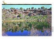 Montezuma's Well Az Water Blue Sky Reflections Stone Wall 3192019 5253. Carry-all Pouch