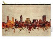 Montreal Skyline Sepia Carry-all Pouch