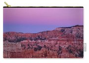 Moonrise Over The Hoodoos Bryce Canyon National Park Utah Carry-all Pouch by Dave Welling