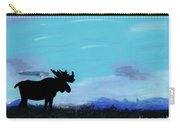 Moose - At - Sunset Carry-all Pouch